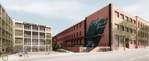 'More reasons to come downtown.' High Point's Congdon Yard campus opening this fall, adding makerspace.