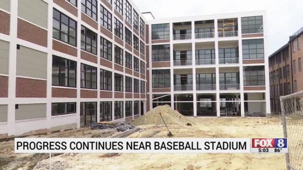 Development continues near High Point's Truist Point Stadium
