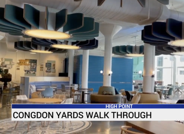 Innovative new space Congdon Yards hopes to draw people to High Point